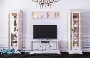 Jual Produk Furniture Bufet TV Set Mewah Minimalis Terbaru