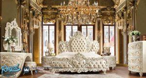 Jual Set Kamar Tidur Mewah Superbed Ukiran Royal Terbaru