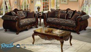 Living Room Furniture Set Kursi Tamu Jati Model Klasik Mewah