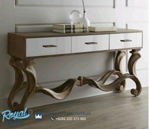 Meja Console Meja Dinding Ruang Tamu Model Terbaru