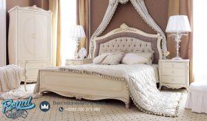 Model Set Tempat Tidur Klasik Velesia Mewah Terbaru