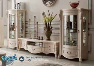 Set Bufet TV Lemari Hias Mewah Modern Design Model Terbaru