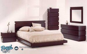 Set Tempat Tidur Furniture Minimalis Jati Mewah Terbaru