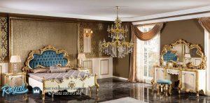Set Tempat Tidur Mewah Italian Furniture Mewah Terbaru