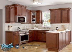 Gambar Set Kitchen Model Jepara Klasik Design Terbaru