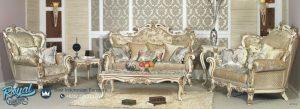 Mebel Set Kursi Tamu Sofa Mewah Ukiran Klasik Terbaru