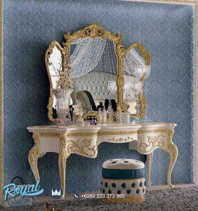 Meja Rias Mewah Toilette Victoria Klasik Terbaru