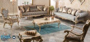 Model Sofa Tamu Set Mewah Terbaru Jepara Klasik