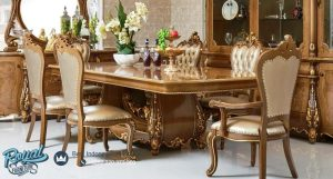 Set Furniture Dining Room Mewah Klasik Esmeralda