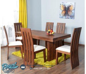 Dining Room Set Table Klasik Meja Makan Jati Mewah Terbaru