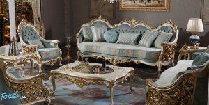 Jual Set Sofa Tamu Mewah Sultanat Model Terbaru