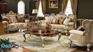 Living Room Set Mewah Model Klasik Terbaru Klasik Sofa Set