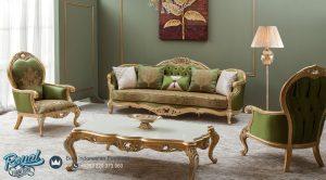 Model Set Kursi Tamu Sofa Mewah Roma Ukiran Terbaru