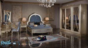 Model Set Tempat Tidur Mewah Italian Klasik Design Terbaru