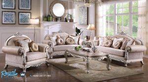 Model Sofa Ruang Tamu Set Mewah Arabian Klasik Modern Terbaru