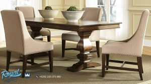 Set Furniture Dining Room Set Mewah Minimalis Klasik Terbaru