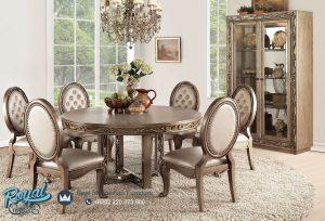 Set Meja Makan Mewah Oriane Antique Model Klasik Terbaru