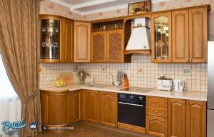 Jual Set Kitchen Minimalis Jati Model Mewah Terbaru