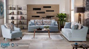 Set Furniture Ruang Tamu Mewah American Style Modern Terbaru