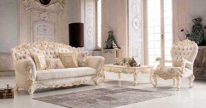Set Sofa Tamu Mewah Royal Estele Modern Design Terbaru