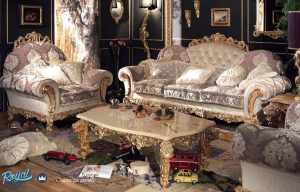 Jual Sofa Set Luxury Italian Furniture Mewah