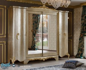 Lemari Pakaian Mewah Klasik Italian Terbaru