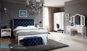Set Furniture Tempat Tidur Eropa Modern Mewah