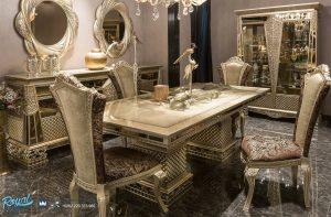 Set Meja Makan Mewah Eropa Klasik Mewah