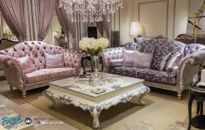 Set Sofa Tamu Mewah Arabian Klasik Mewah