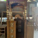 Jual Mimbar Masjid Jati Ukiran Jepara Terbaru Murah