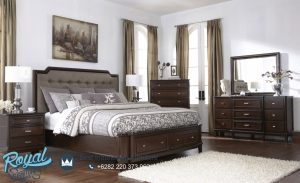 Furniture Kamar Tidur Minimalis Kayu Jati Klasik Terbaru