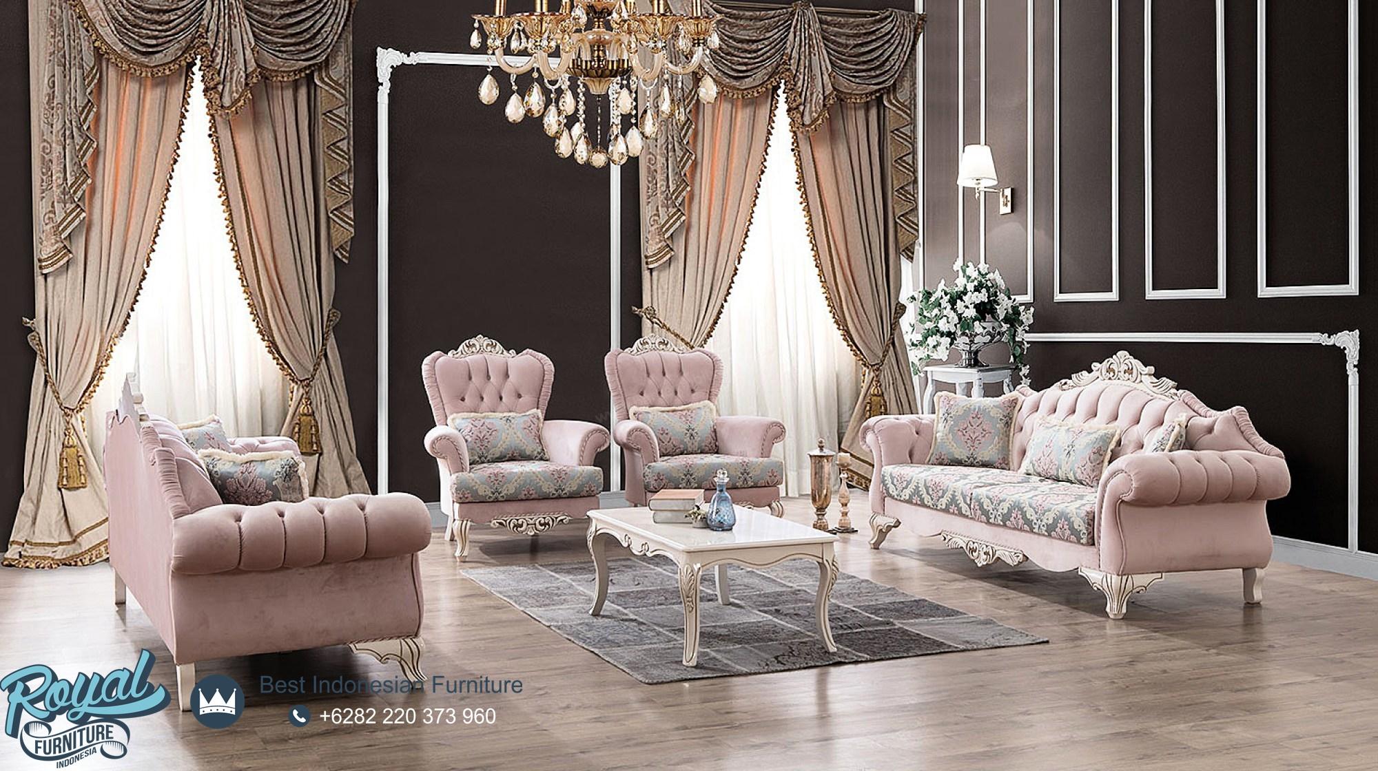 Model Sofa Ruang Tamu Modern Mewah Pink Cover Italian Style, sofa tamu jepara terbaru, sofa tamu mewah, sofa tamu mewah klasik, sofa ruang tamu mewah modern, sofa mewah modern, sofa mewah minimalis, kursi tamu mewah kualitas terbaik, sofa tamu mewah terbaru, sofa mewah minimalis terbaru, harga kursi tamu mewah, kursi tamu sofa, harga sofa jepara terbaru, toko furniture jepara, kursi sofa tamu kayu jati ukiran jepara, jual kursi sofa tamu ukir jepara, sofa tamu kayu jati jepara murah, mebel jepara, royal furniture