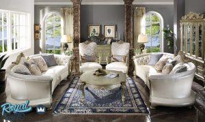 Set Kursi Tamu Set Kursi Tamu Mewah Ukiran Jepara Luxury Elegan Terbaru