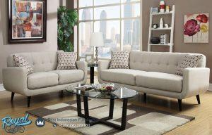 Model Sofa Tamu Jati Minimalis Terbaru Elegan Ruangan Kecil