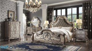 Set Kamar Tidur Mewah Klasik Ukir Jepara Terbaru Melissa