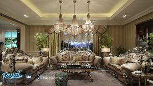 Set Sofa Tamu Klasik Eropa Ukir Jepara Brunello Terbaru