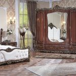 Set Tempat Tidur Jati Ukir Jepara Mewah Klasik Terbaru Carolina