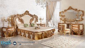 Set Tempat Tidur Mewah Klasik Ukir Jepara Sultan Turky Style