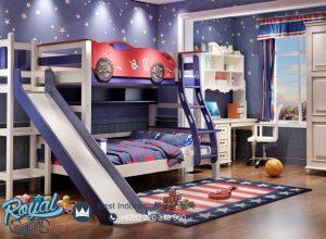 Model Tempat Tidur Anak Laki Laki Mobil Perosotan