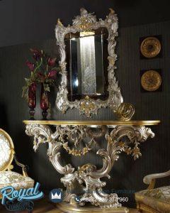 Meja Console Luxury Classic Silver Gold