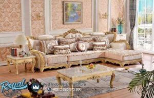 Sofa Ruang Keluarga Klasik Leter L Lorenzo