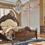 Bedroom Luxury Classic Kayu Jati Ukir Jepara