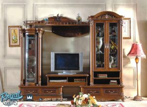 Model Bufet Tv Klasik Jati Italian Style