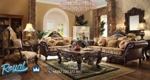 Model Sofa Tamu Jati Classic Eropa