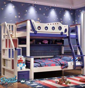 Tempat Tidur Anak Tingkat Karakter Pesawat