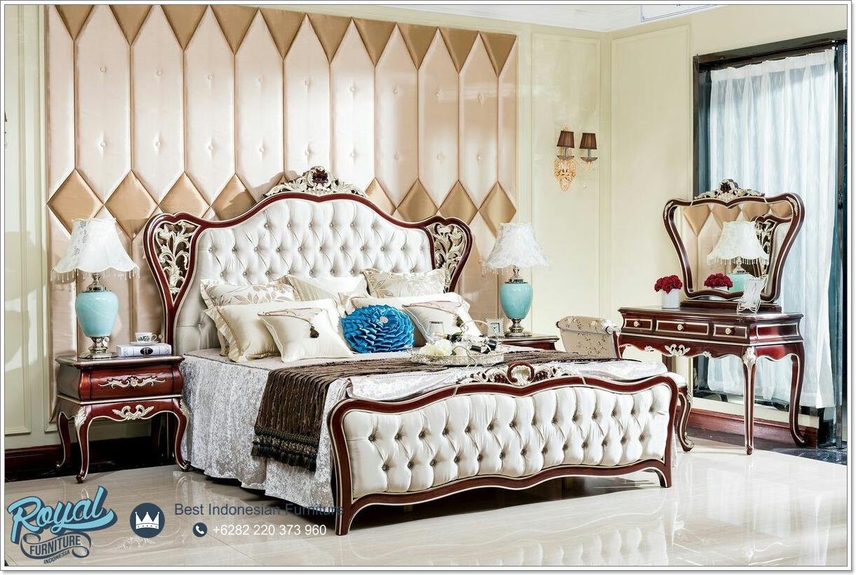 Tempat Tidur Jati Ukir, Set Tempat Tidur Klasik, Set Kamar Tidur Mewah Jati, Kamar Ser Klasik Mewah, Set Tempat Tidur Royal Ukir Jepara