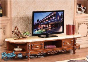 Bufet Tv Mewah Klasik Eropa Giorno