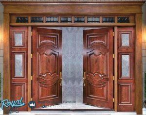 Kusen Pintu Jati Jepara Minimalis European
