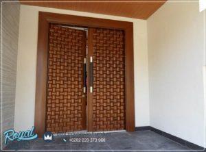 Kusen Pintu Jati Rumah Minimalis Mewah