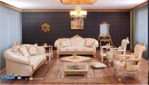 Set Kursi Sofa Tamu Mewah Burmali Terbaru Ukiran Jepara